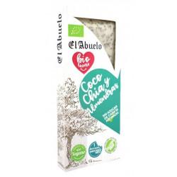 Turrón Coco Chía Almendra Eco El Abuelo 200 gr