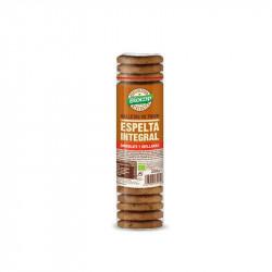 Galletas de Trigo de Espelta Integral, Chocolate y Avellanas Biocop 250 g