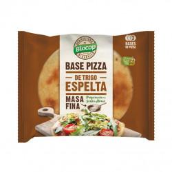 Base de Pizza de Trigo Espelta Masa Fina Biocop 3 uds 390 gr