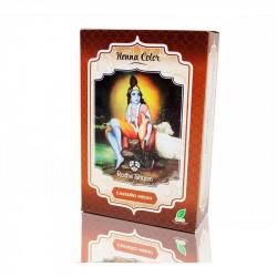 Henna Castaño Medio Radhe Shyam
