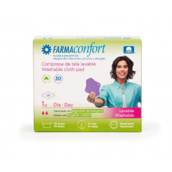 Compresa Tela Lavable Día Alas Farmaconfort