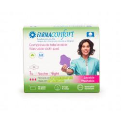 Compresa Tela Lavable Noche Alas Farmaconfort