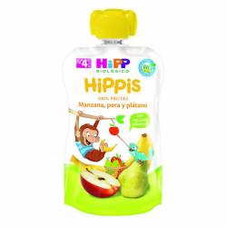 HiPP Pouch Manzana y Plátano Biológico 100 gr