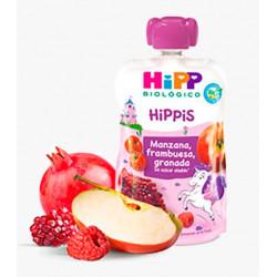 HiPP Pouch Frambuesa Granada Biológico 100 gr