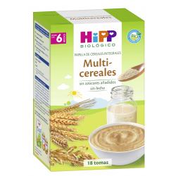 HiPP Papilla Multicereales Biológico 400 gramos