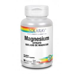 Solaray Magnesium 90 Cápsulas Vegetales