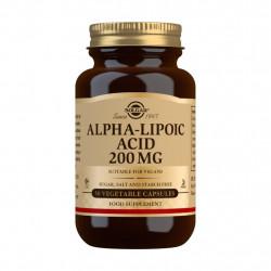 Ácido Alfalipoico 200mg 50 cápsulas