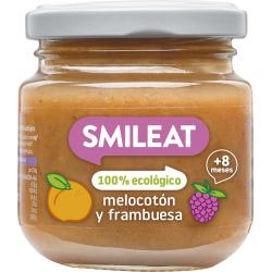 Smileat Tarro Frambuesa Melocoton 130 gr
