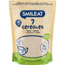 Smileat Papilla 7 Cereales 200 gr BIO