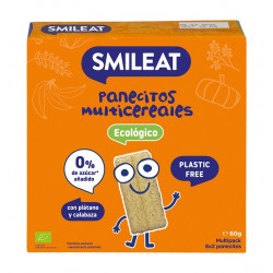 Smileat Panecillos Multicereales 60gr