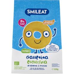 Smileat Galletas de Espelta con Manzana 220gr