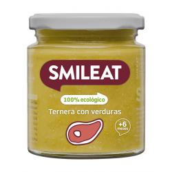 Smileat Tarro Ternera con Verduras Ecológico 230gr
