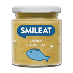 Smileat Tarro Merluza con Verduras Ecológico 230gr