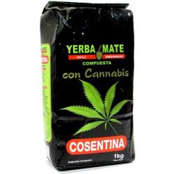 Yerba Mate Cosentina Cannabis 1 KG