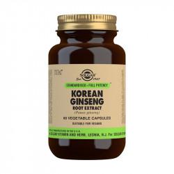 Ginseng Coreano Solgar 60 caps