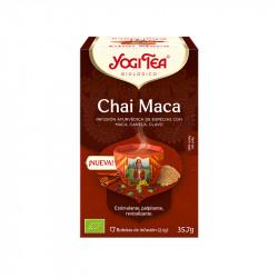 Infusión Chai Maca Yogi Tea 17*2gr