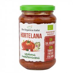 Salsa de Tomate Hortelana con Verduras Mediterráneas Bio Orgánica 325 ml