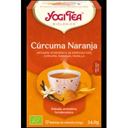 Yogi Tea Cúrcuma Naranja 17 bolsas