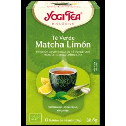 Yogi Tea Té Verde Matcha Limón 17 bolsas