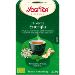 Yogi Tea Té Verde Energía 17 bolsas