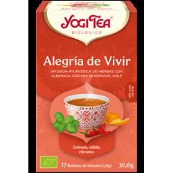 Yogi Tea Alegría de Vivir 17 bolsas