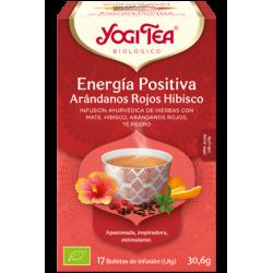 Yogi Tea Energía Positiva Arándanos Hibisco 17 bolsas