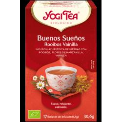 Yogi Tea Buenos Sueños Rooibos Vainilla 17 bolsas