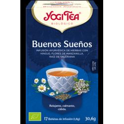 Yogi Tea Buenos Sueños 17 bolsas