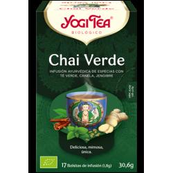 Yogi Tea Chai Verde 17 bolsas
