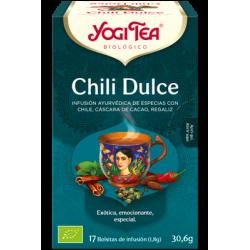 Yogi Tea Chili Dulce 17 bolsas