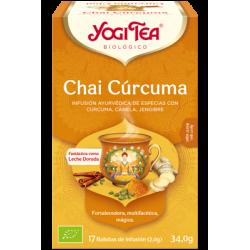 Yogi Tea Cúrcuma Chai 17 bolsas