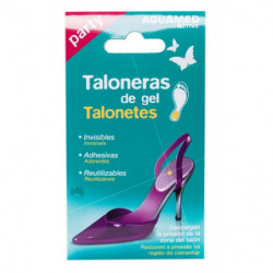 Aquamed Taloneras de Gel 2 uds