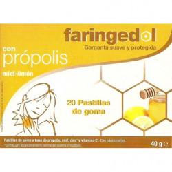 Faringedol Propolis Miel-Limón 20 uds