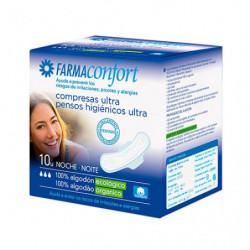 Farmaconfort Compresas de Noche 10 uds