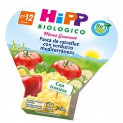 Hipp Pasta de Estrellas con Verduras Bio 260gr