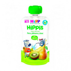 Hipp Pouch Kiwi Pera y Plátano 90gr