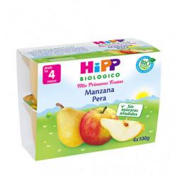 Hipp Tarrina de Manzana y Pera 4 x 100gr
