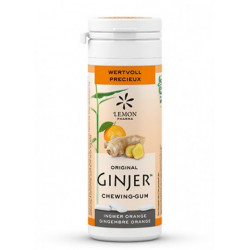 Lemon Pharma Chicles Stevia Jengibre Bio Sabor Naranja 30gr
