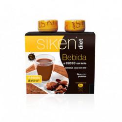 Siken Diet Botella de Cacao 2 uds