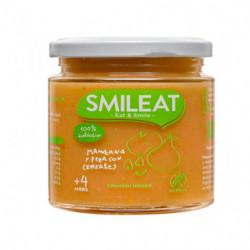 Smileat Tarro Manzana y Pera con Cereales Ecológico 130gr