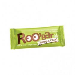 Roo'Bar Barritas Chia y Cáñamo 20 uds