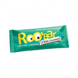 Roo'Bar Barritas Chia y Coco 20 uds