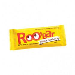 Roo'Bar Barritas Maca y Arándano 20 uds