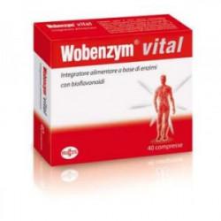 Wobenzym Vital 40 Comprimidos