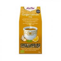 Yogi Tea Jengibre y Limón Chai 90gr