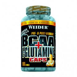 Weider BCAA con L-Glutamina 180 cápsulas