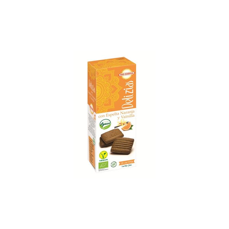 Bio-Darma Delicias Espelta Naranja y Vainilla 135gr