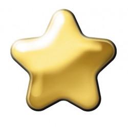 Estelle Pendiente Estrella Dorada Sii-Crg 300 12 uds