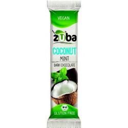 Zuba Barrita Coco Menta y Chocolate Sin Gluten 12 unidades