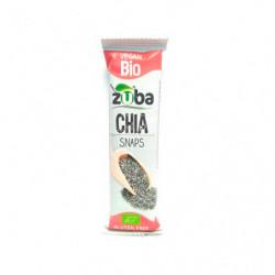 Zuba Barrita Semilla Chia Sin Gluten 12 unidades